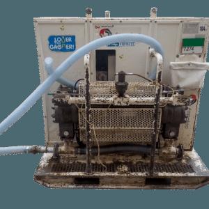 Centrale d'injection TECNIWELL TWG11 Double bac à louer chez Foraloc