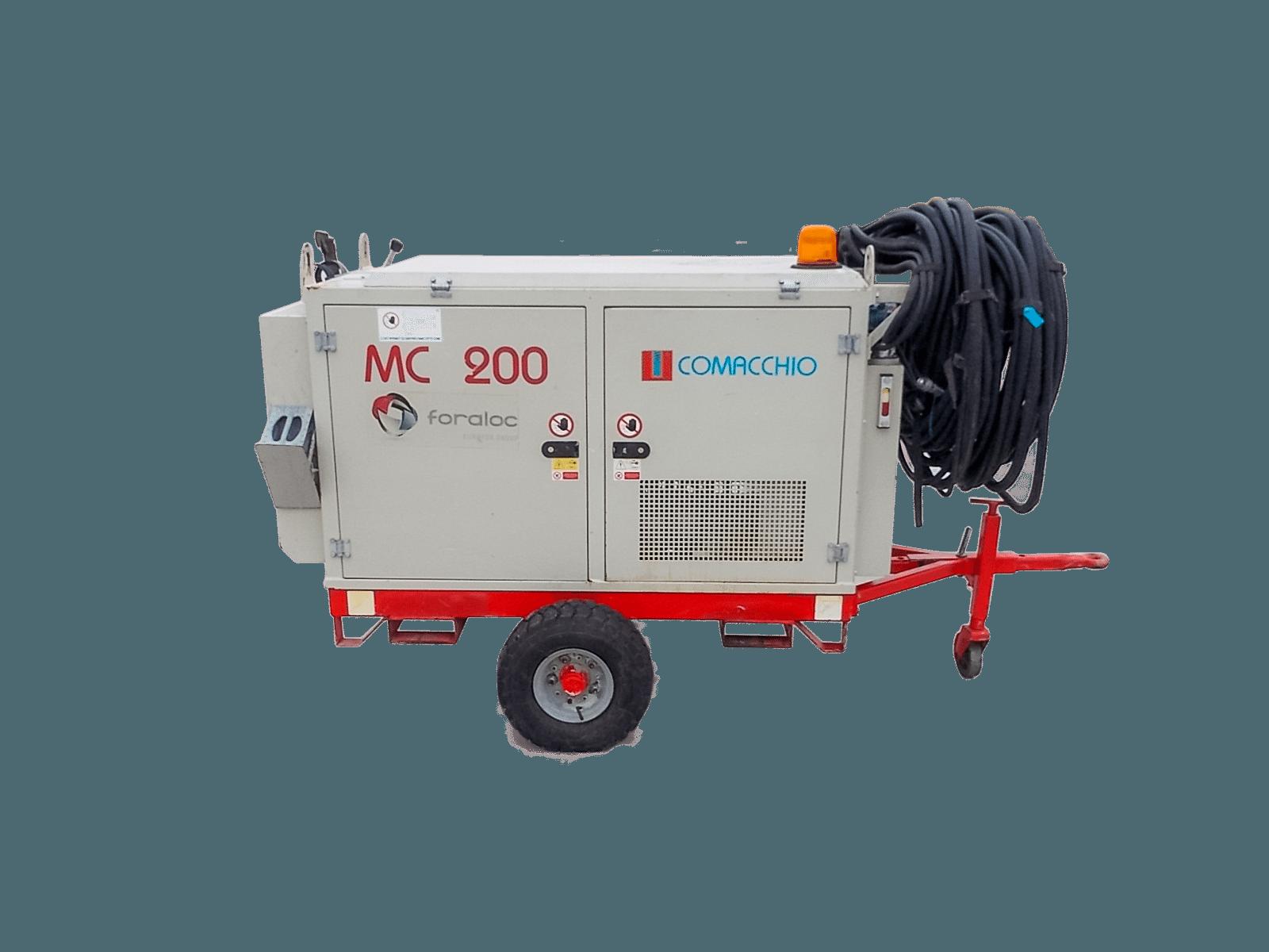Foreuse MC200 Moteur Ther Comacchio