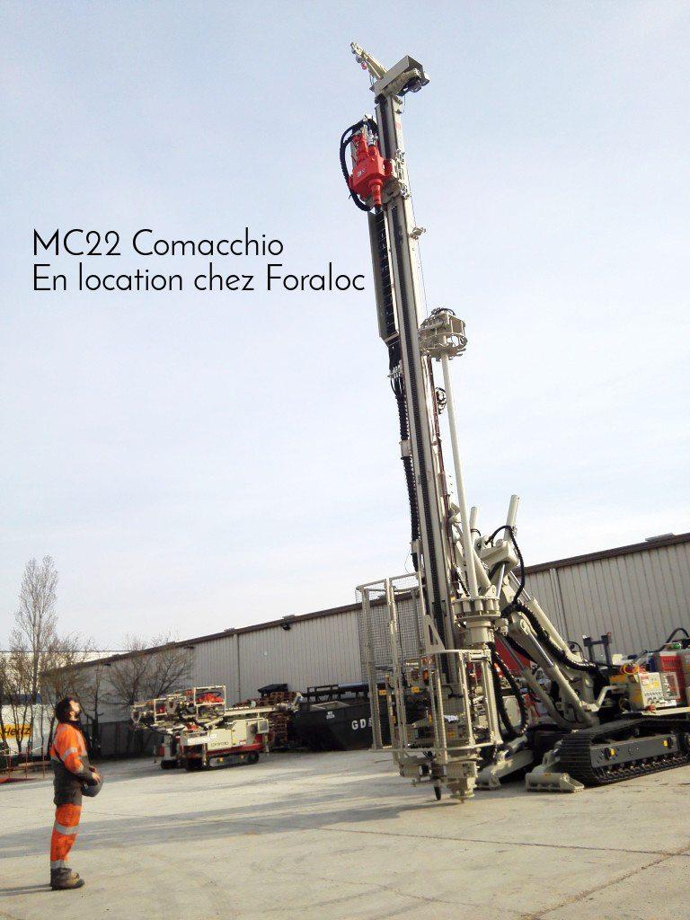 Foreuse travaux spéciaux MC22