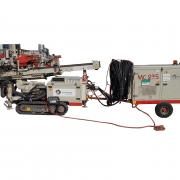 Foreuse hydraulique MC235 Comacchio avec groupe de puissance séparé