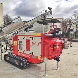 Foreuse hydraulique MC3 Comacchio à la location chez Foraloc