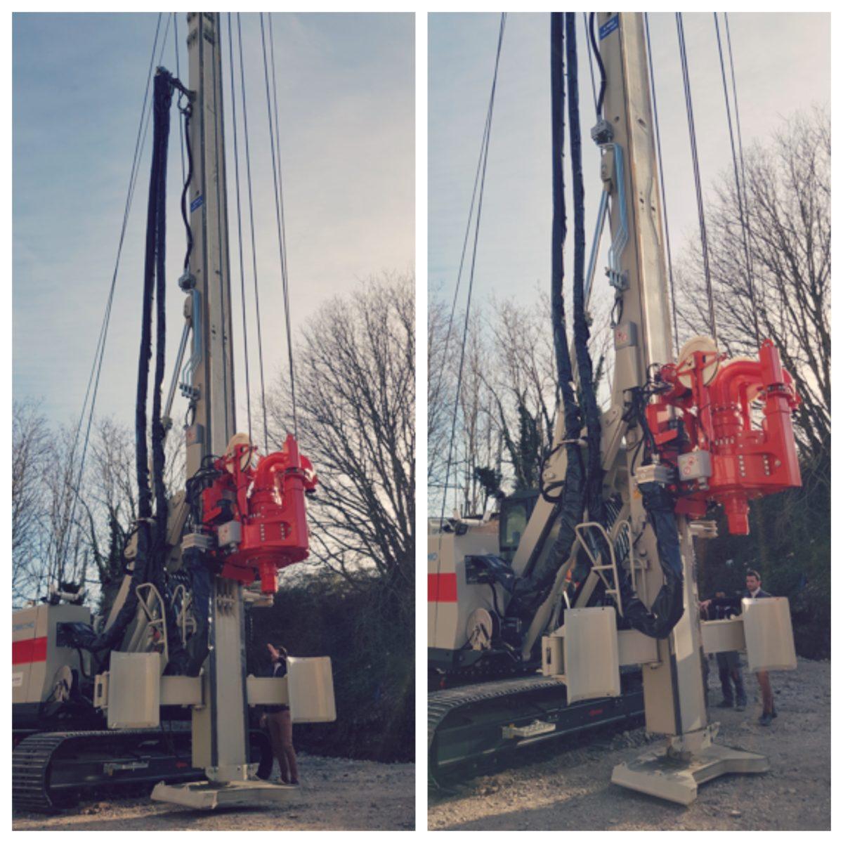 Montage CH 300 sur chantier