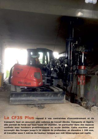 CF3S Plus - Encombrement